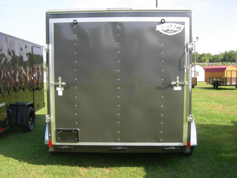 2021 Impact Trailers ISCAA7x12TE2 Enclosed Cargo Trailer