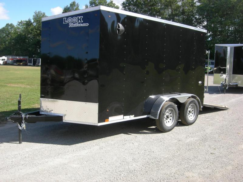 2021 Look Trailers LSCAB7x12TE2 Enclosed Cargo Trailer