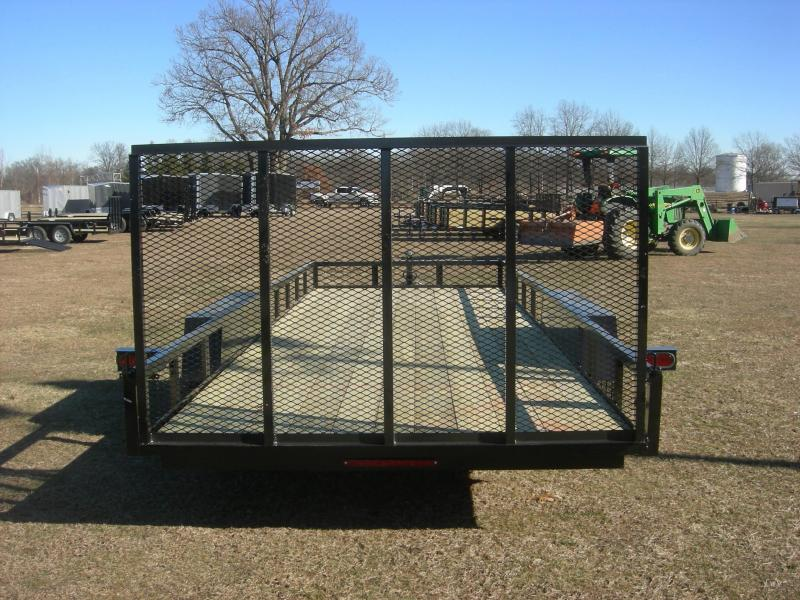 2021 American Manufacturing Operations (AMO) UT82x20 Landscape Equipment Trailer