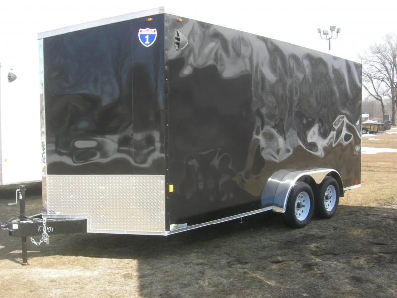 2021 Interstate 1 Trailers IFC7x16TA2 Enclosed Cargo Trailer