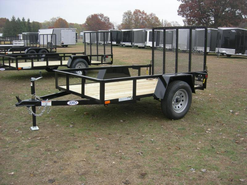 2021 American Manufacturing Operations (AMO) US 5x8LS Utility Trailer