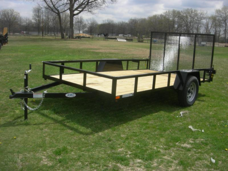 2021 American Manufacturing Operations (AMO) US82x12LS Utility Trailer