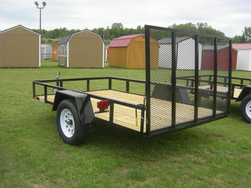 2021 American Manufacturing Operations (AMO) 76x10LS Utility Trailer
