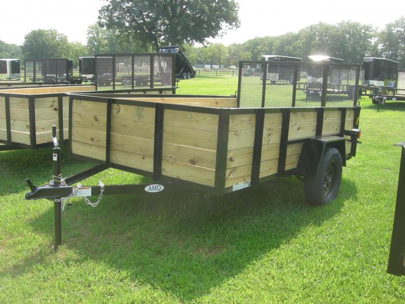 2021 American Manufacturing Operations (AMO) US76x10HS Utility Trailer