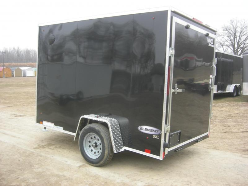 2021 Look Trailers LSCBC6x10SI2 Enclosed Cargo Trailer