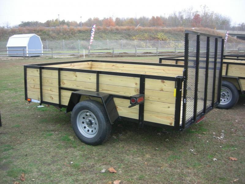 2021 American Manufacturing Operations (AMO) US 76x10HS Utility Trailer