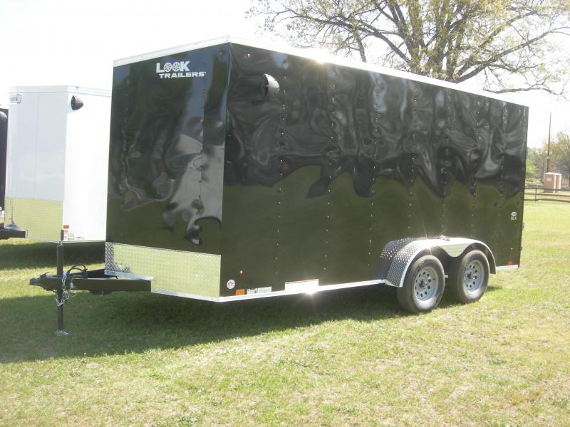 2022 Look Trailers LSCAB7x16TE2 Enclosed Cargo Trailer