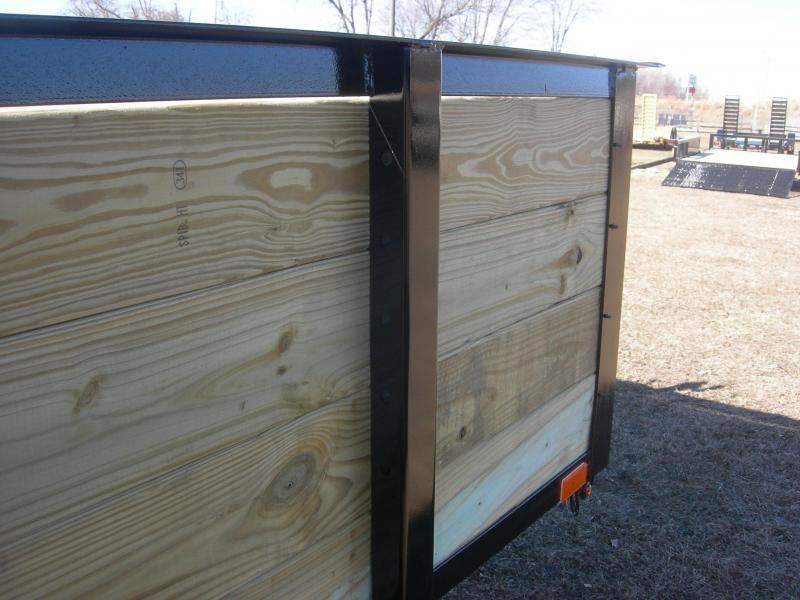 2021 American Manufacturing Operations (AMO) US76x12HS Utility Trailer