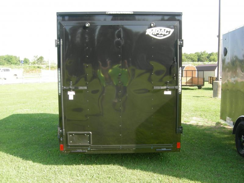 2021 Impact Trailers ISCAA6x12SI Enclosed Cargo Trailer