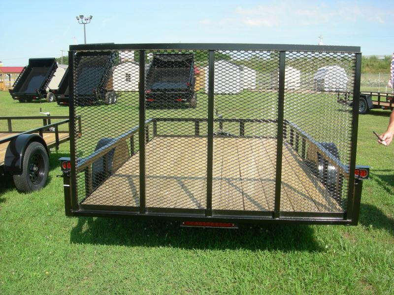 2021 American Manufacturing Operations (AMO) US 76x12LS Utility Trailer