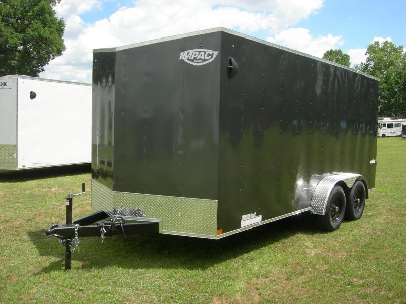 2021 Impact Trailers ISCAA7x16TE2 Enclosed Cargo Trailer