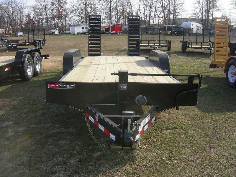2022 Mac-Lander 20TFHWB Equipment Trailer