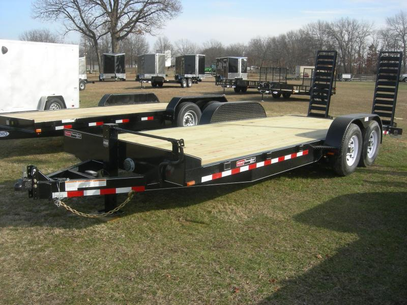 2022 Mac-Lander 20TFHWB Equipment Trailer