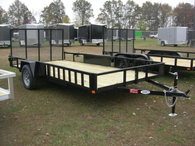 2021 American Manufacturing Operations (AMO) US 82x14LS/ATV ATV Trailer
