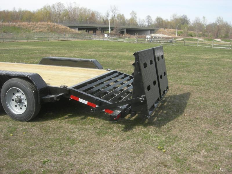 2021 Sure-Trac ST82173-16 Equipment Trailer