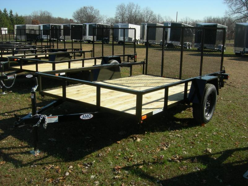 2021 American Manufacturing Operations (AMO) US 76x10LS Utility Trailer