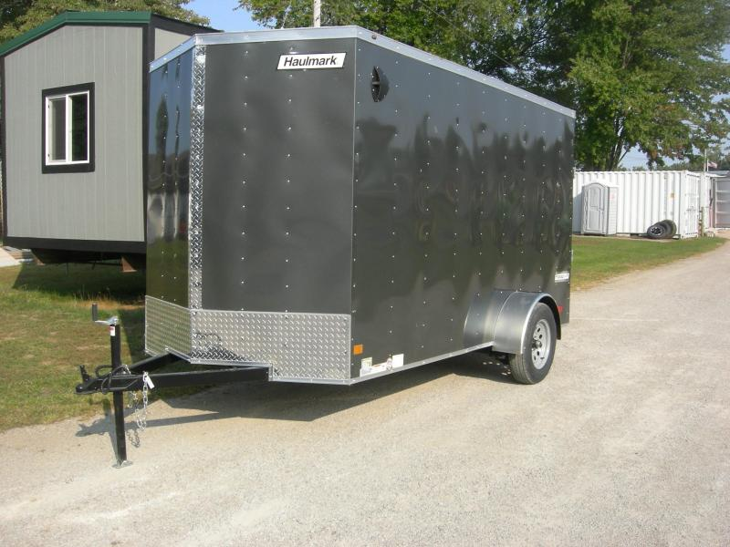 2021 Haulmark PP6x12S2-D Enclosed Cargo Trailer