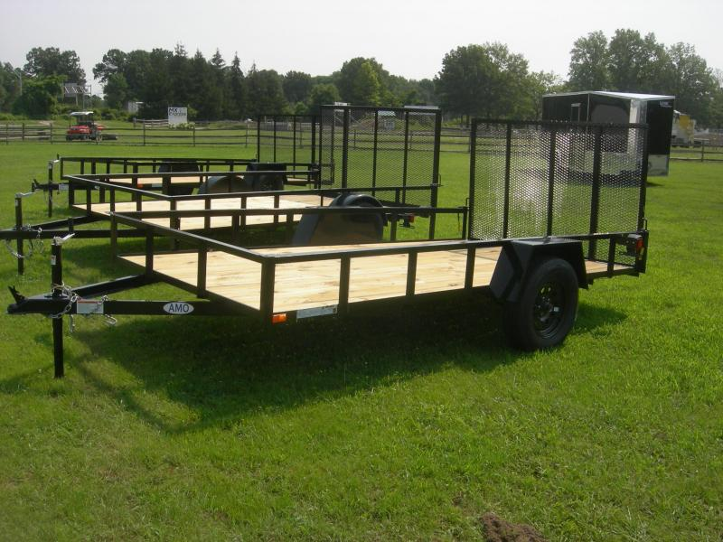 2021 American Manufacturing Operations (AMO) US76x12LS Utility Trailer