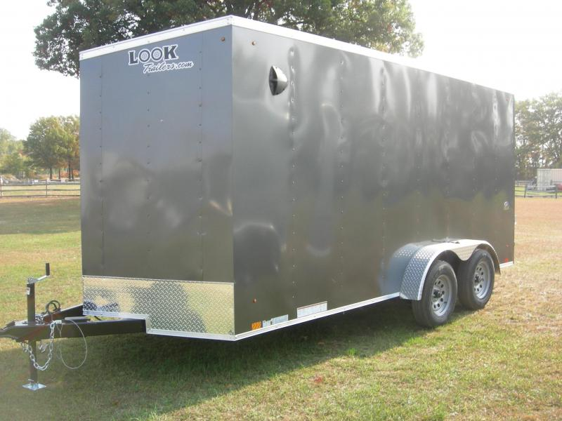 2021 Look Trailers LSCAB7x16TE2 Enclosed Cargo Trailer