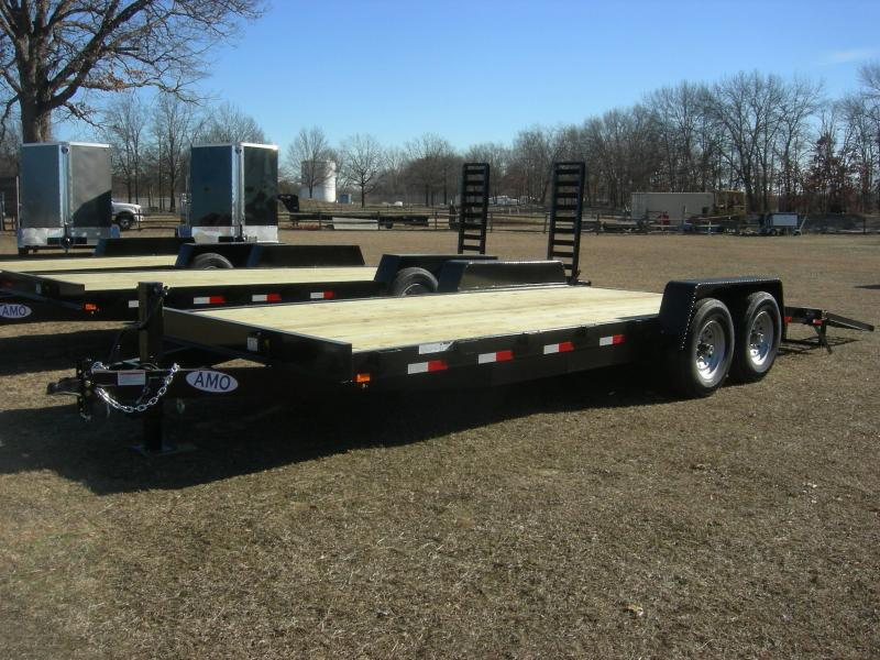 2021 American Manufacturing Operations (AMO) UG82x20 Equipment Equipment Trailer