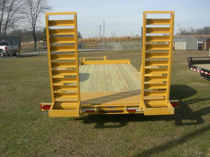 2021 Mac-Lander 18TSLWB Equipment Trailer
