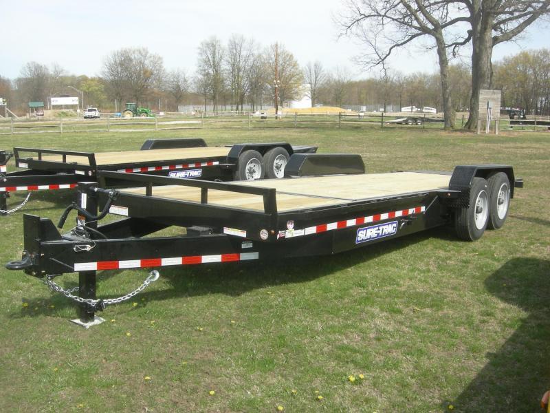 2021 Sure-Trac ST82184-16 Tilt Equipment Trailer