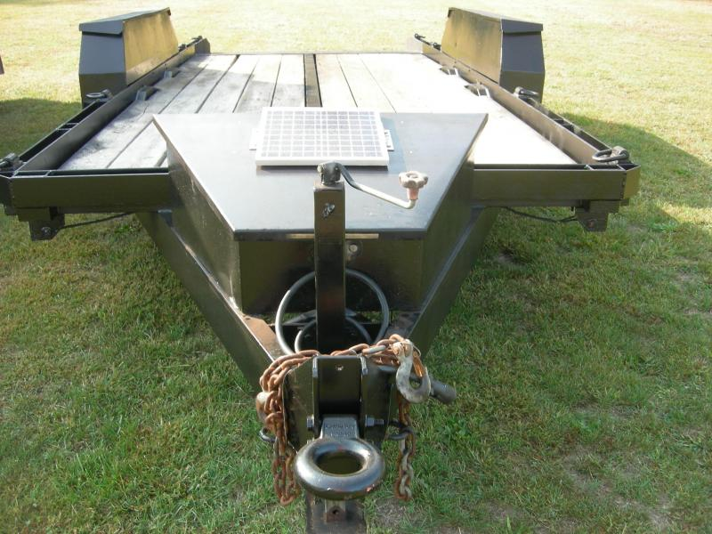 2011 Kaufman Trailers U-19 Equipment Trailer