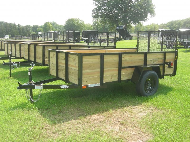 2021 American Manufacturing Operations (AMO) US5x10HS Utility Trailer