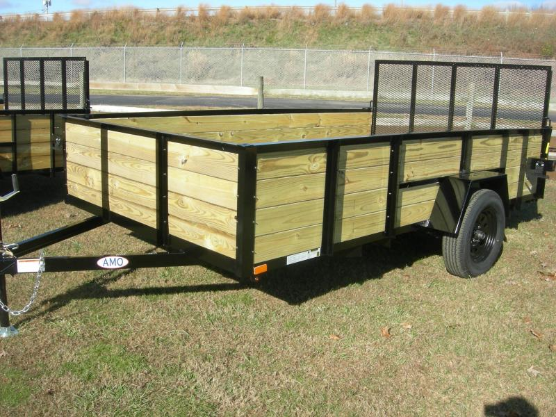 2021 American Manufacturing Operations (AMO) US 82x12HS Utility Trailer