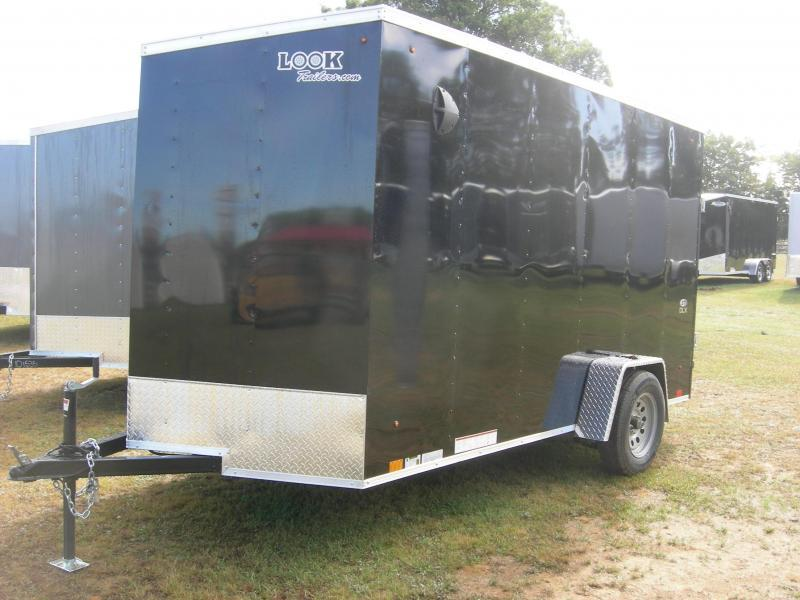 2021 Look Trailers LSCAB6x12SI Enclosed Cargo Trailer