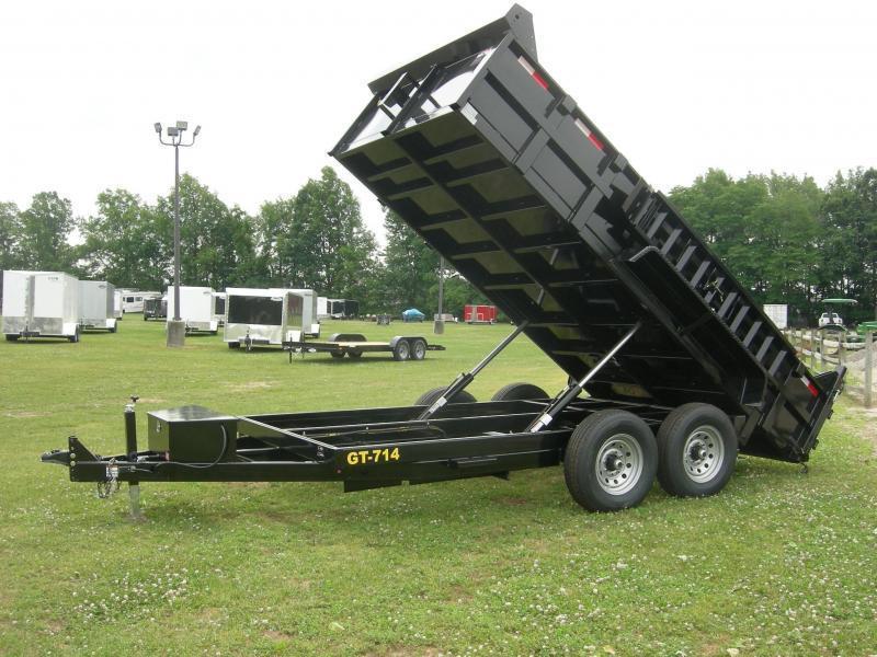 2021 Griffin GT-714 Dump Trailer