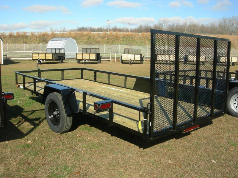 2021 American Manufacturing Operations (AMO) US 82x12LS Enclosed Cargo Trailer
