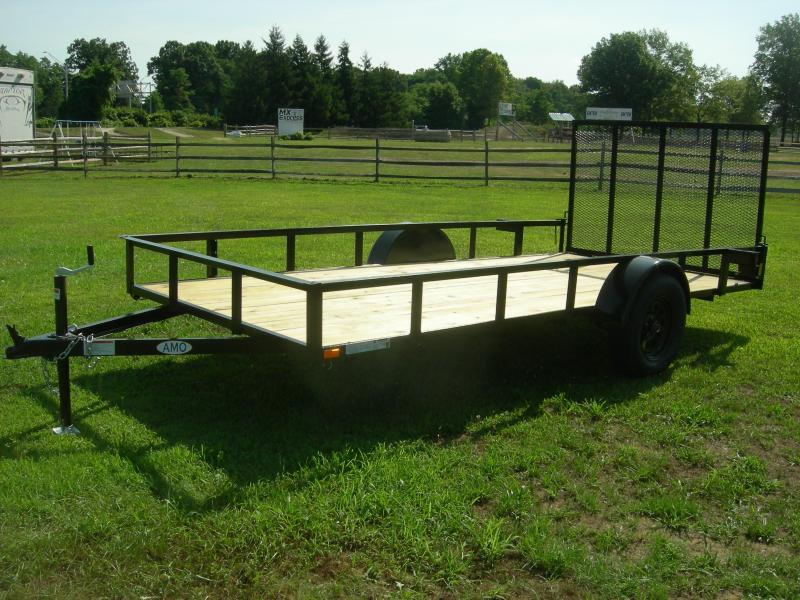 2021 American Manufacturing Operations (AMO) US 76x14LS Utility Trailer