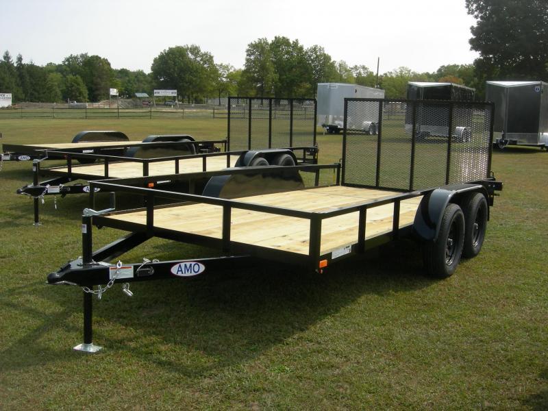 2021 American Manufacturing Operations (AMO) UT76x14Landscape Equipment Trailer