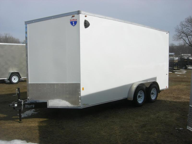 2021 Interstate 1 Trailers IFC7x16TA2 Enclosed Cargo Trailer