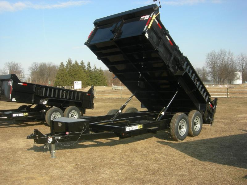 2021 Griffin GT714 Dump Trailer