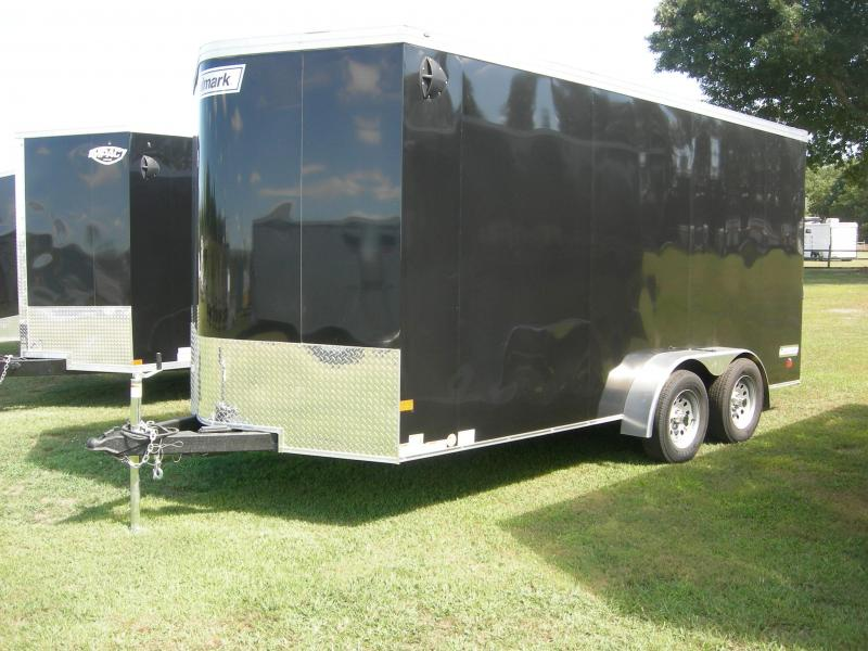 2021 Haulmark TSV7x16TE2 Enclosed Cargo Trailer