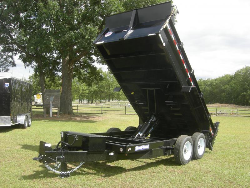2022 Sure-Trac ST8214TLDD Dump Trailer