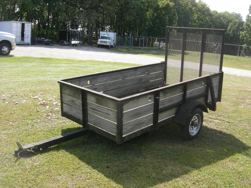 2004 American Manufacturing Operations (AMO) US 4x8HS Utility Trailer