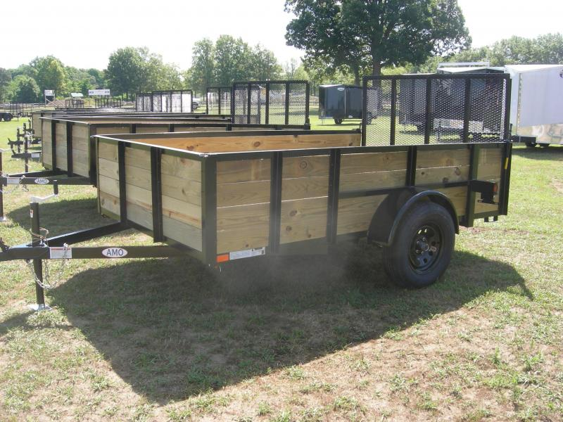 2020 American Manufacturing Operations (AMO) US76x10HS Utility Trailer