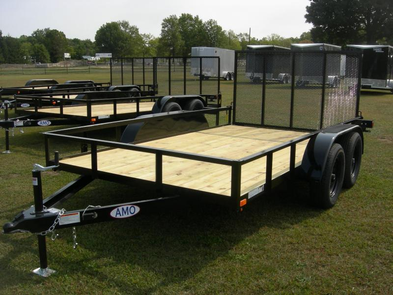 2021 American Manufacturing Operations (AMO) US 82x12 Landscape Equipment Trailer