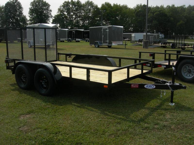 2021 American Manufacturing Operations (AMO) US 82x12 Landscape Equipment Trailer
