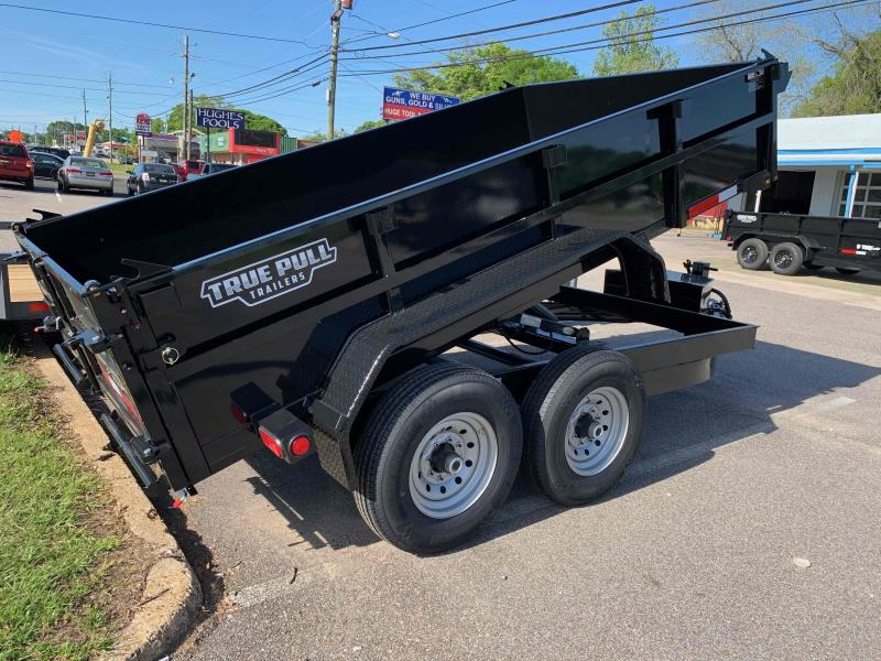 "2021 Anderson Manufacturing 80""x12' 6T Dump Trailer"