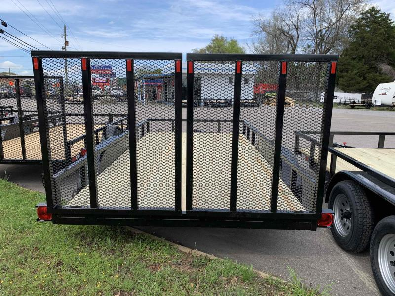 2021 Outback Trailers 7x14 Tandem Utility Trailer