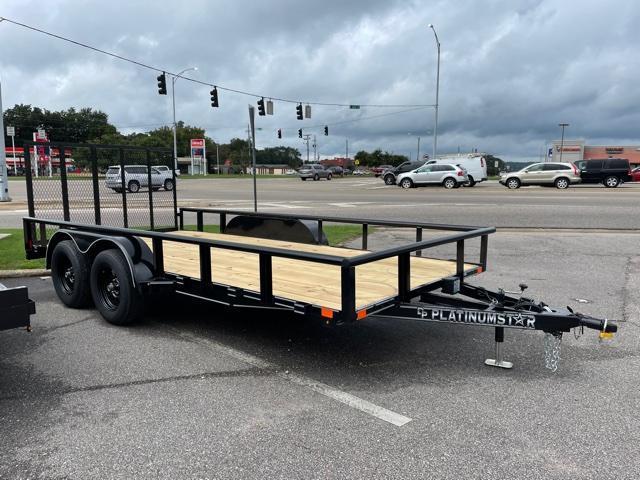 "2021 Platinumstar 83""x16' Tandem Axle Utility Trailer"