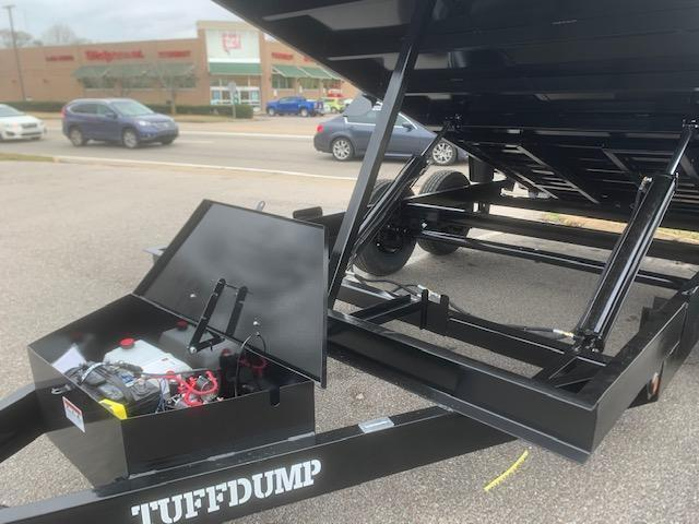 2021 TUFFDUMP 7x14 Dump Trailer