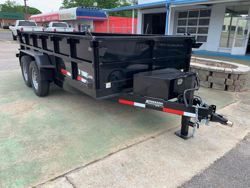 2021 Anderson Manufacturing 80x14 L1-86616 Dump Trailer