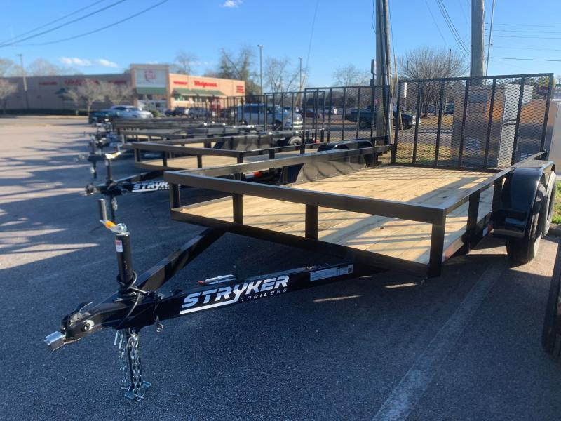 2020 Stryker Trailers 6.5x14 Tandem Utility Trailer