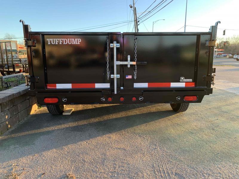 2021 TUFFDUMP 7X16 Dump Trailer