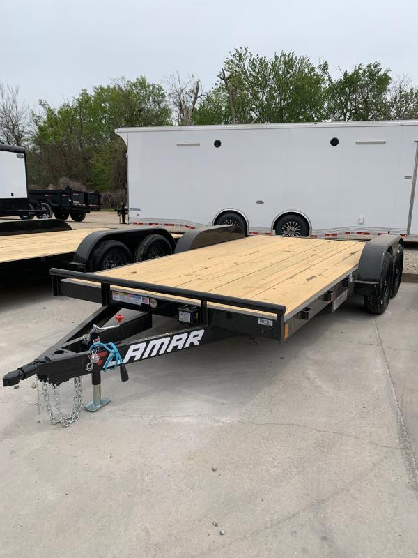"2021 Lamar Trailers CE 16' X 83"" TANDEM AXLE CAR HAULER Car / Racing Trailer"